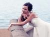 Невеста на берегу волги